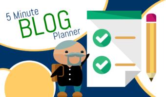 Super Easy 5-Minute Blog Planner