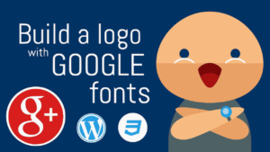 google fonts build logo