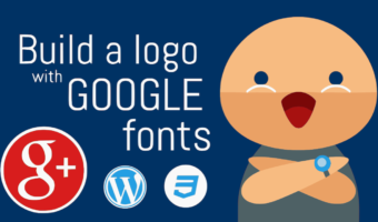 Build a Website Logo with Google Fonts in 2 Minutes!