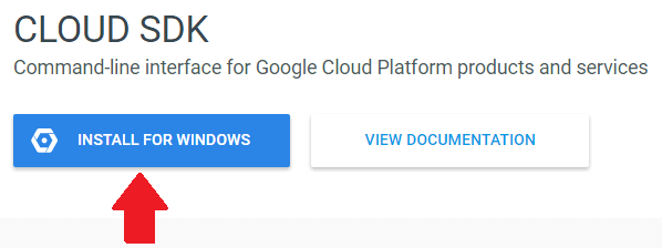 install google cloud SDK to manage wordpress files on google cloud