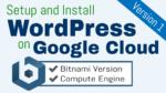 setup wordpress on google cloud platform bitnami
