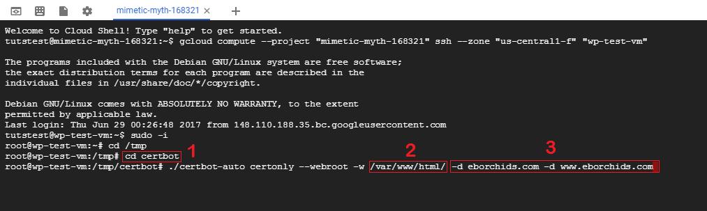 generate ssl certificates