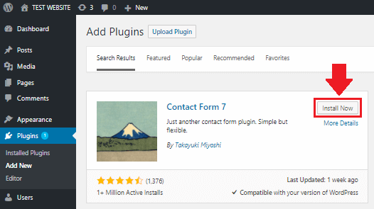Setup Contact Forms in WordPress on Google Cloud