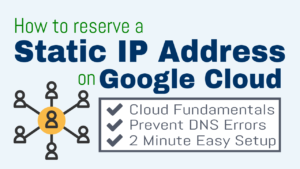 reserve static ip google cloud
