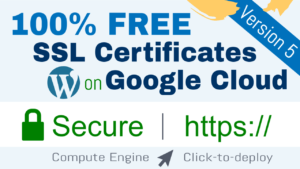 free ssl certificate wordpress google cloud click to deploy