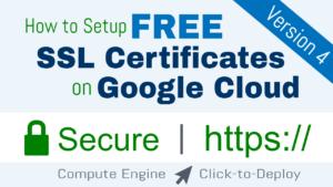 free ssl certificate setup wordpress on google cloud platform click to deploy lamp stack