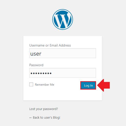 how to install wordpress on azure login to wordpress