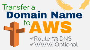 transfer domain to aws