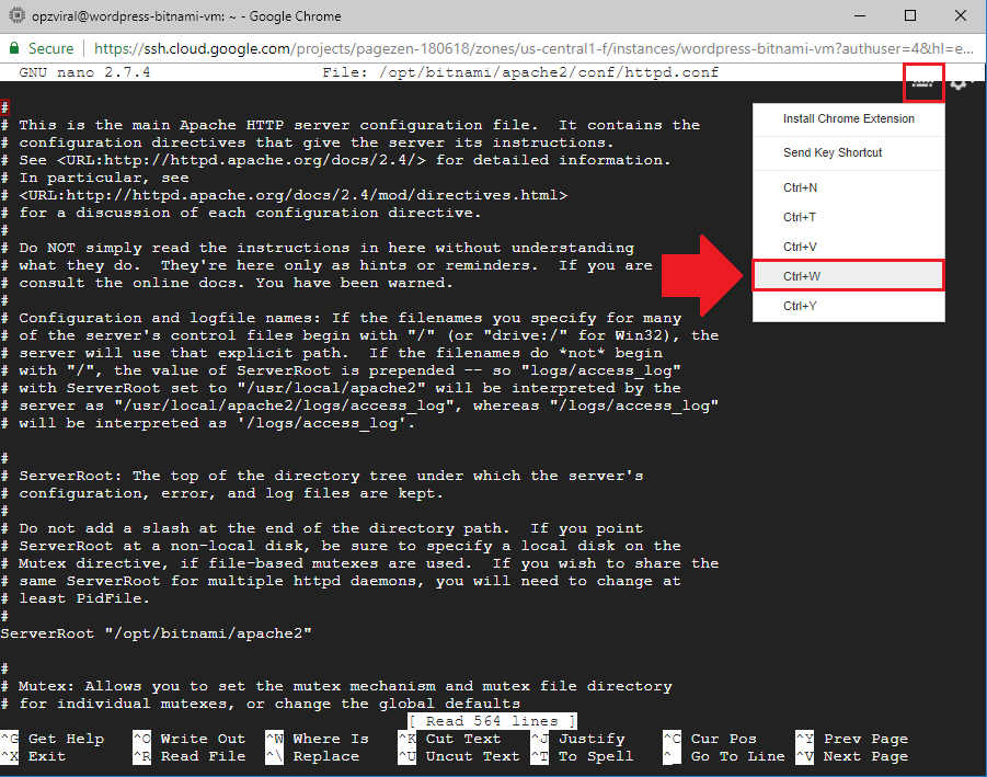 add expires headers wordpress google cloud