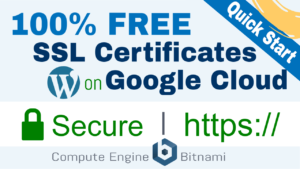 free ssl certificate setup wordpress google cloud bitnami