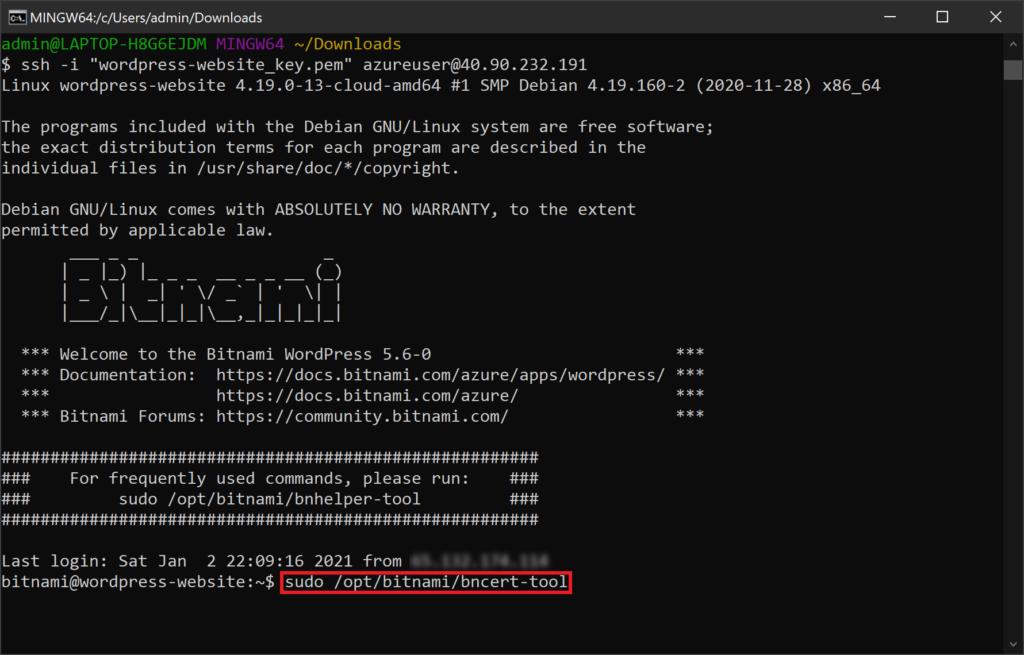 execute-bncert-tool-command